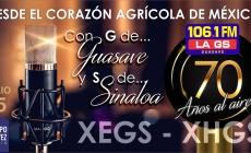 LA GS 106.1FM ¡CUMPLE 70 AÑOS!