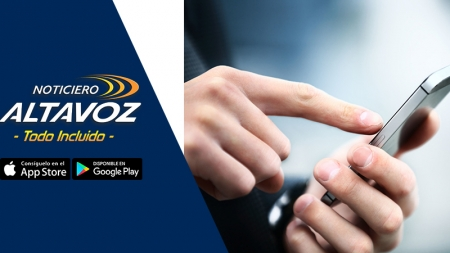 DESCARGA LA APP DE NOTICIERO ALTAVOZ