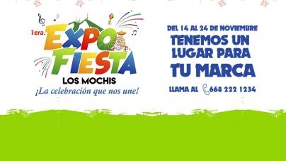 FORMA PARTE DE LA EXPO FIESTA LOS MOCHIS