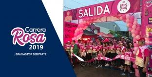 ARRANQUE DE LA CARRERA ROSA 2019