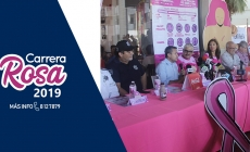 PRESENTAN LA CARRERA ROSA 2019