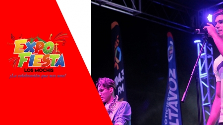 GRUPO SOBERANO Y CUATRO CUARTOS EN LA EXPO FIESTA LOS MOCHIS