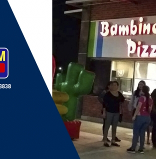 GS PLAY VISITA ¡BAMBINOS PIZZA!