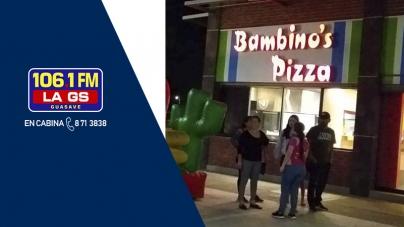 GS PLAY VISITA ¡BAMBINOS PIZZA!