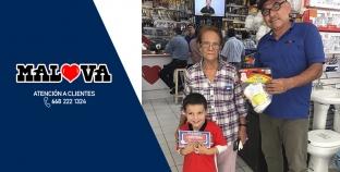 GANADORES CON CHAVEZ RADIO Y MALOVA