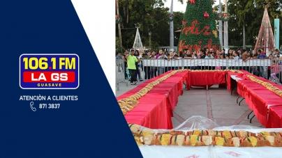 VEN A PARTIR LA ROSCA GIGANTE DE LA GS 106.1FM