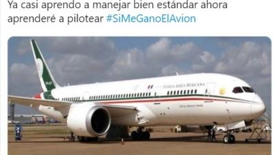 ¿Qué harías con el avión presidencial?