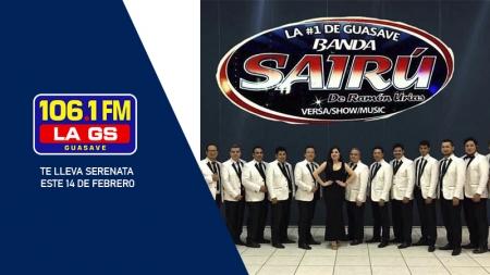 LA GS 106.1FM Y BANDA SAIRU ¡REALIZAN SORTEO DE UNA SERENATA!