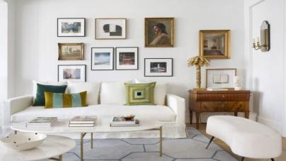 ¿Aburrida de cómo se ve tu hogar? Te decimos cómo decorar las paredes con cuadros