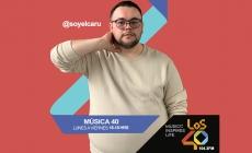 CARU EN LA TARDES DE #MÚSICA40