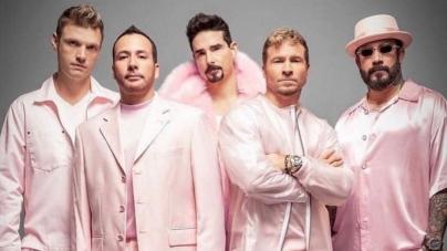 Backstreet Boys dan concierto virtual y se vuelven tendencia
