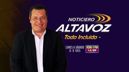 PABLO CÉSAR ESPINOZA EN ALTAVOZ TODO INCLUÍDO