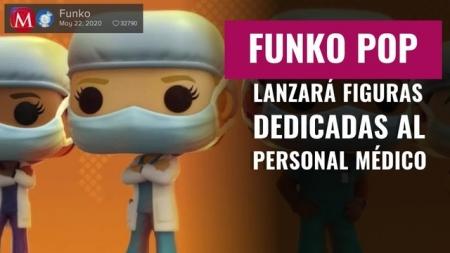 Para los verdaderos héroes: Funko lanza figuras de médicos y enfermeras para rendirles homenaje