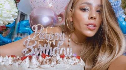 Danna Paola cumple 25 años y así lo celebra en Instagram: