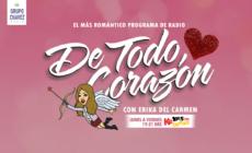 PONTE ROMÁNTICO CON «DE TODO CORAZÓN»