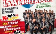 ENTREVISTA A LA ARROLLADORA BANDA EL LIMÓN CON ERIKA DEL CARMEN Y MARCO GARCÍA ¡NO TE LA PIERDAS!
