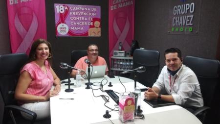 INICIA CON FUERZA LA CAMPAÑA DE PREVENCIÓN DE CÁNCER DE MAMA DE CHAVEZ RADIO