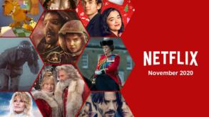 ¡Estas son las series y películas que llegan a Netflix en Noviembre!