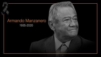 'Nos hizo falta tiempo'… Murió Armando Manzanero a los 86 años