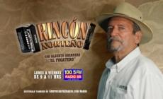 ESCUCHA «RINCÓN NORTEÑO» CON ALBERTO GUERRRERO